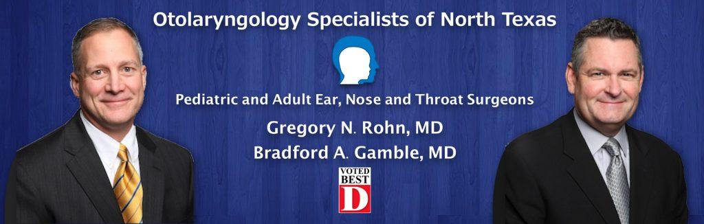 Dr Rohn and Dr Gamble ENT Surgeons